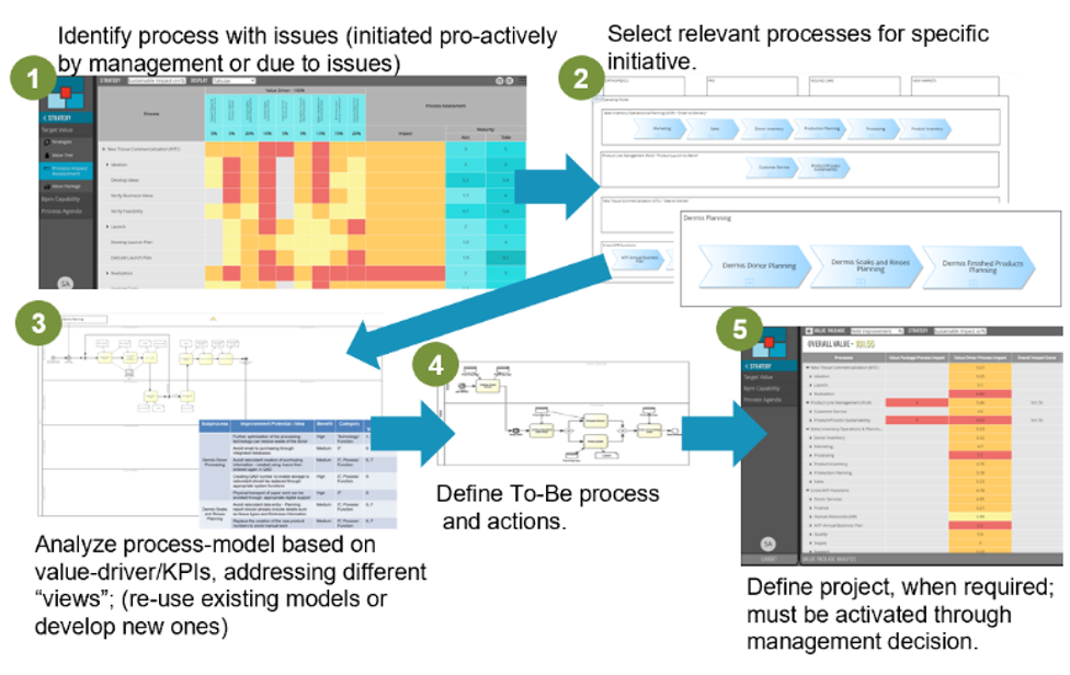 BPM Accelerators - methods and tools to streamline the execution and performance journey