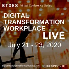 Process-led Digital Transformation Presentation | BTOES Digital Transformation Workplace Live | July 21, 2020 | 12PM EST