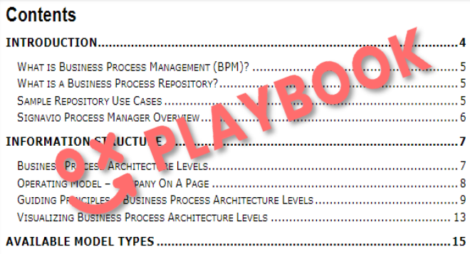 BPM Playbook Sample Chapters